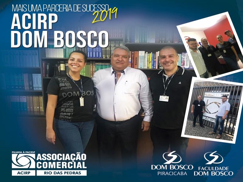 Nova Parceria: Faculdade e Colégio Dom Bosco