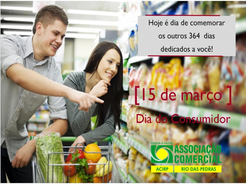 Homenagem da ACIRP para todos os consumidores!
