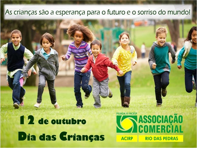 Homenagem da ACIRP para o Dia das Crianças