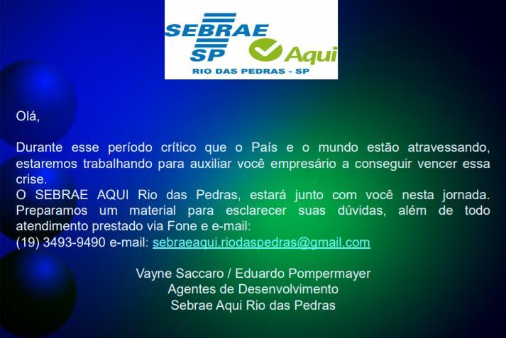 SEBRAE RDP